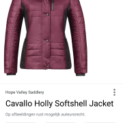Gezocht: Cavallo jas Holly