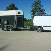 Sluis 1,5 paards trailer