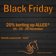 Black Friday | 20% Korting | Hele Collectie | 3 dagen |