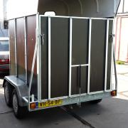 Weijers 2 paards trailer